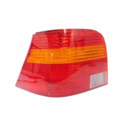 Calavera Izquierdo Para Golf A4 Color Rojo/Ámbar